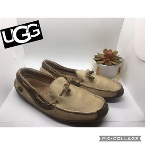 Uggs men's driving shoes